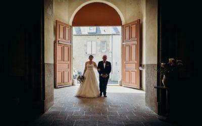 Mariage de M & A à Evran