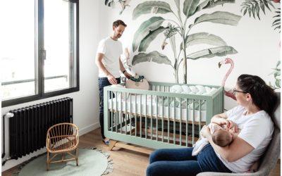 Un reportage à domicile, idéal pour un nouveau né